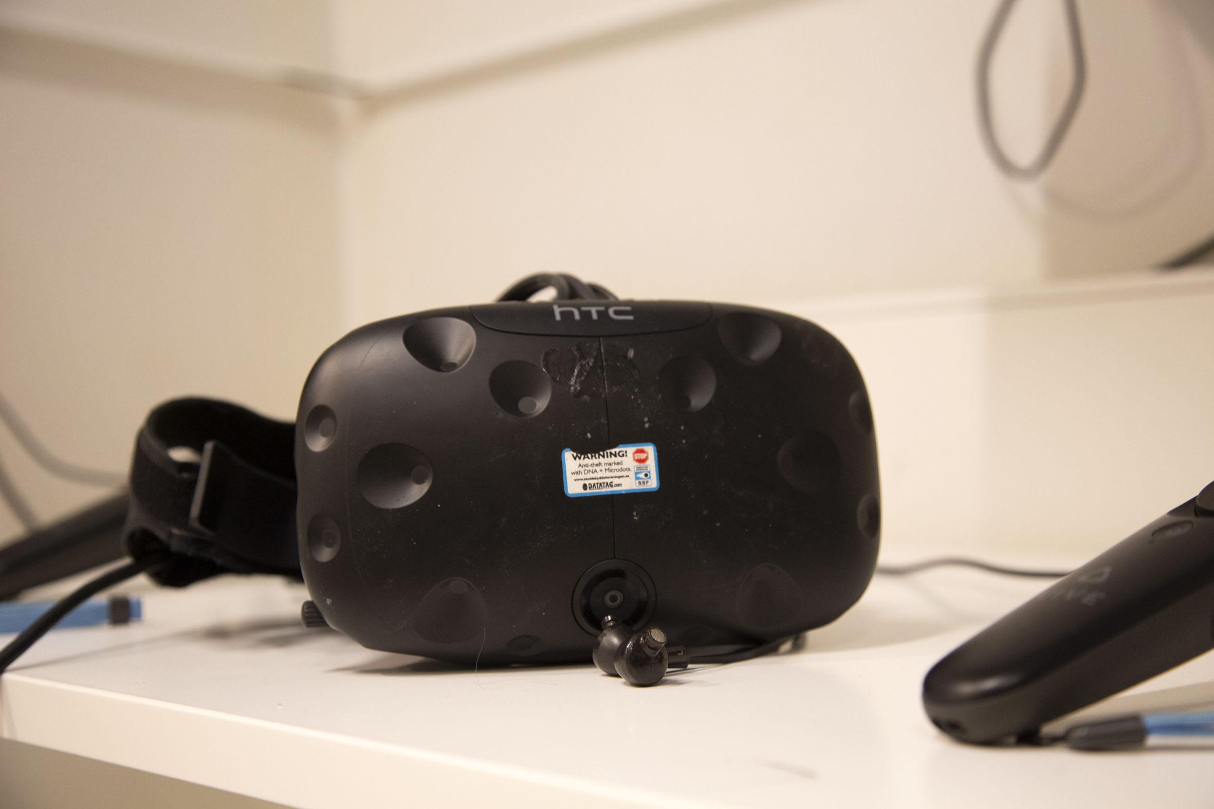 Bild på VR-headset